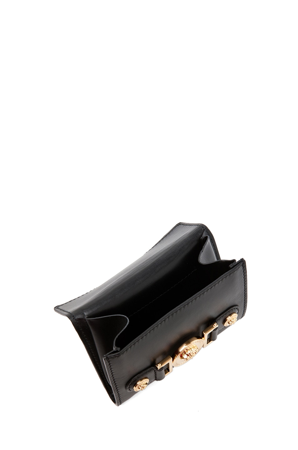 Image 8 of VERSACE Belt with Pouch in Black