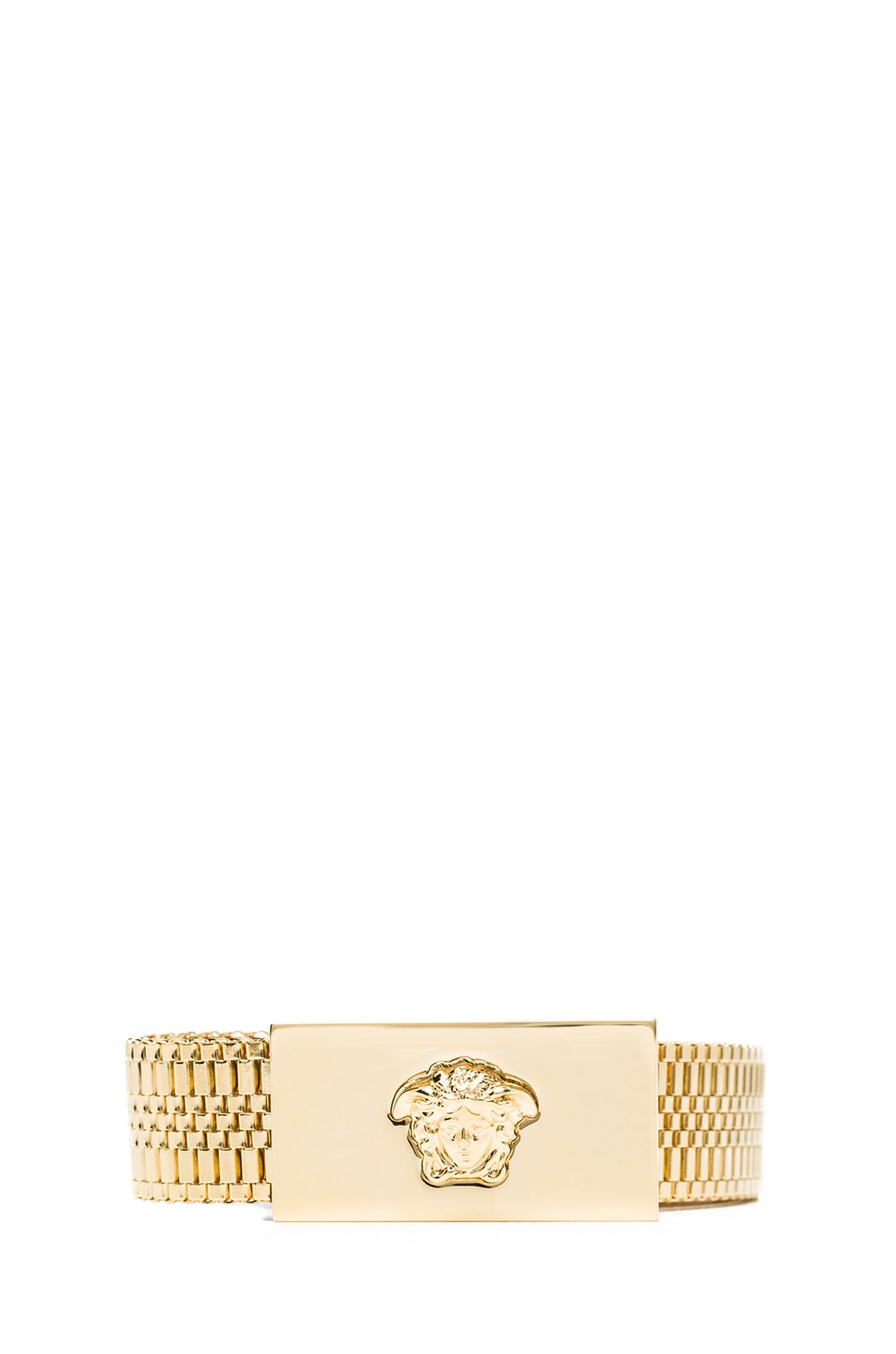 Image 1 of VERSACE Chain Belt in Gold