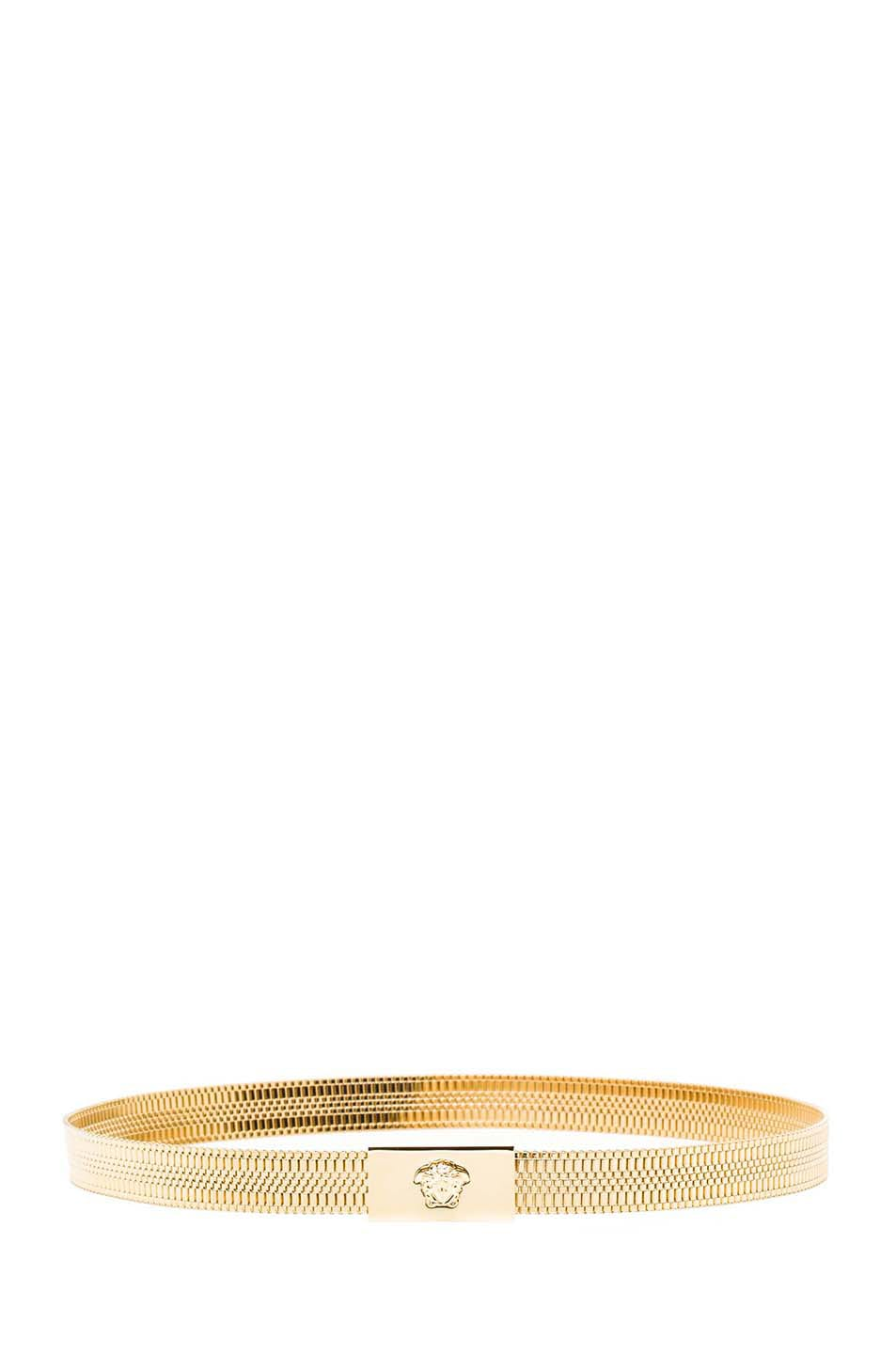 Image 2 of VERSACE Chain Belt in Gold