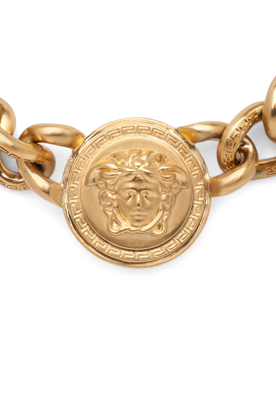 Image 3 of VERSACE 3 Pendent Necklace in Gold