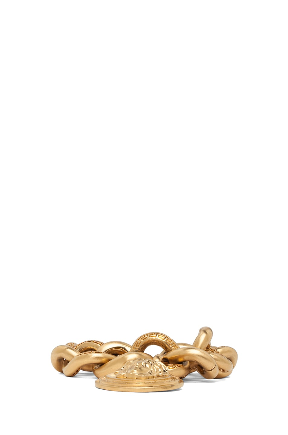 Image 2 of VERSACE Plated Chain Bracelet in Gold