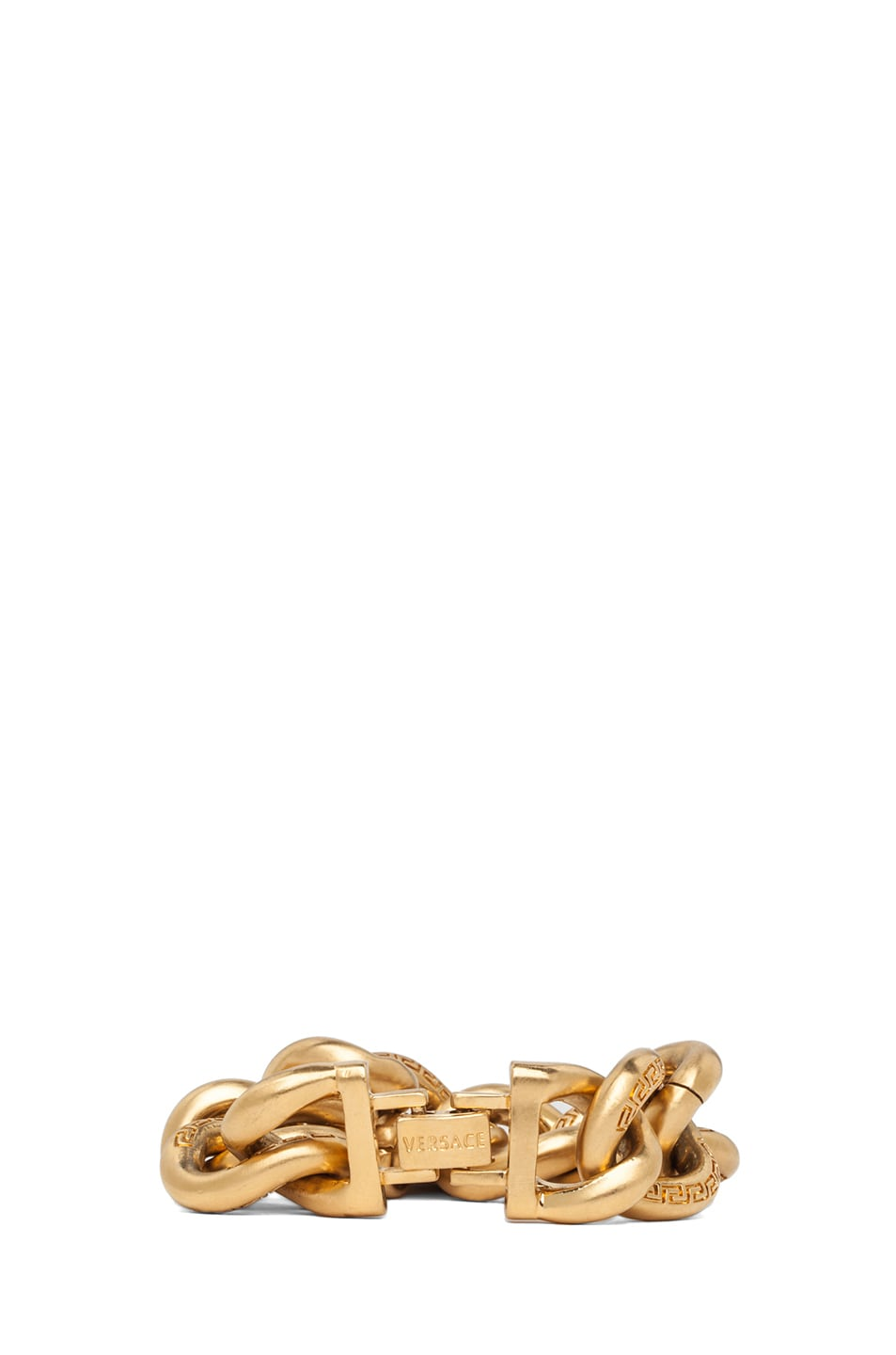 Image 4 of VERSACE Plated Chain Bracelet in Gold