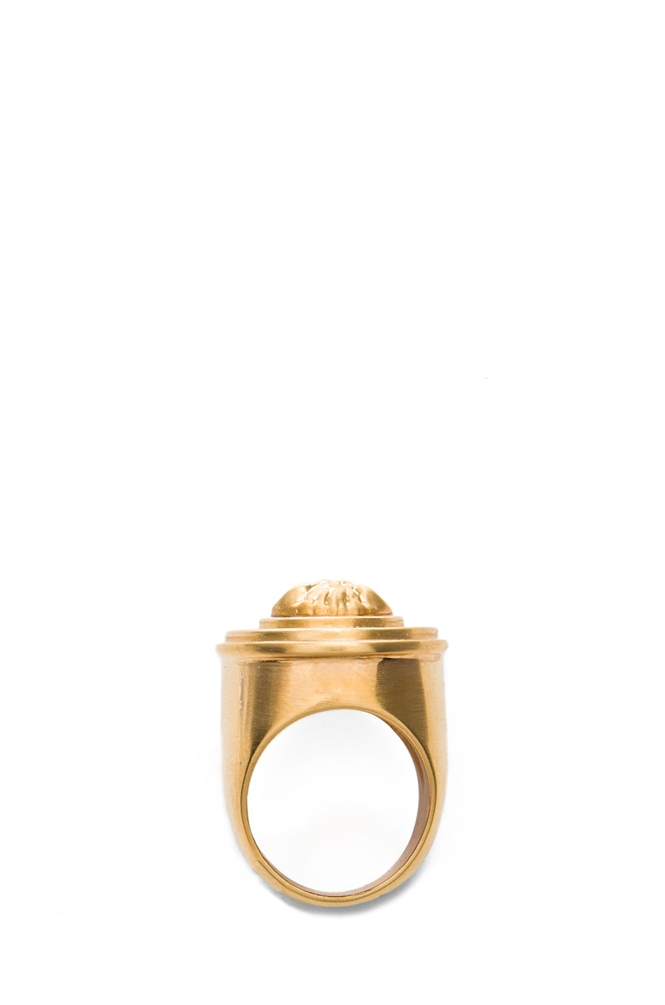Image 4 of VERSACE Plated Ring in Gold