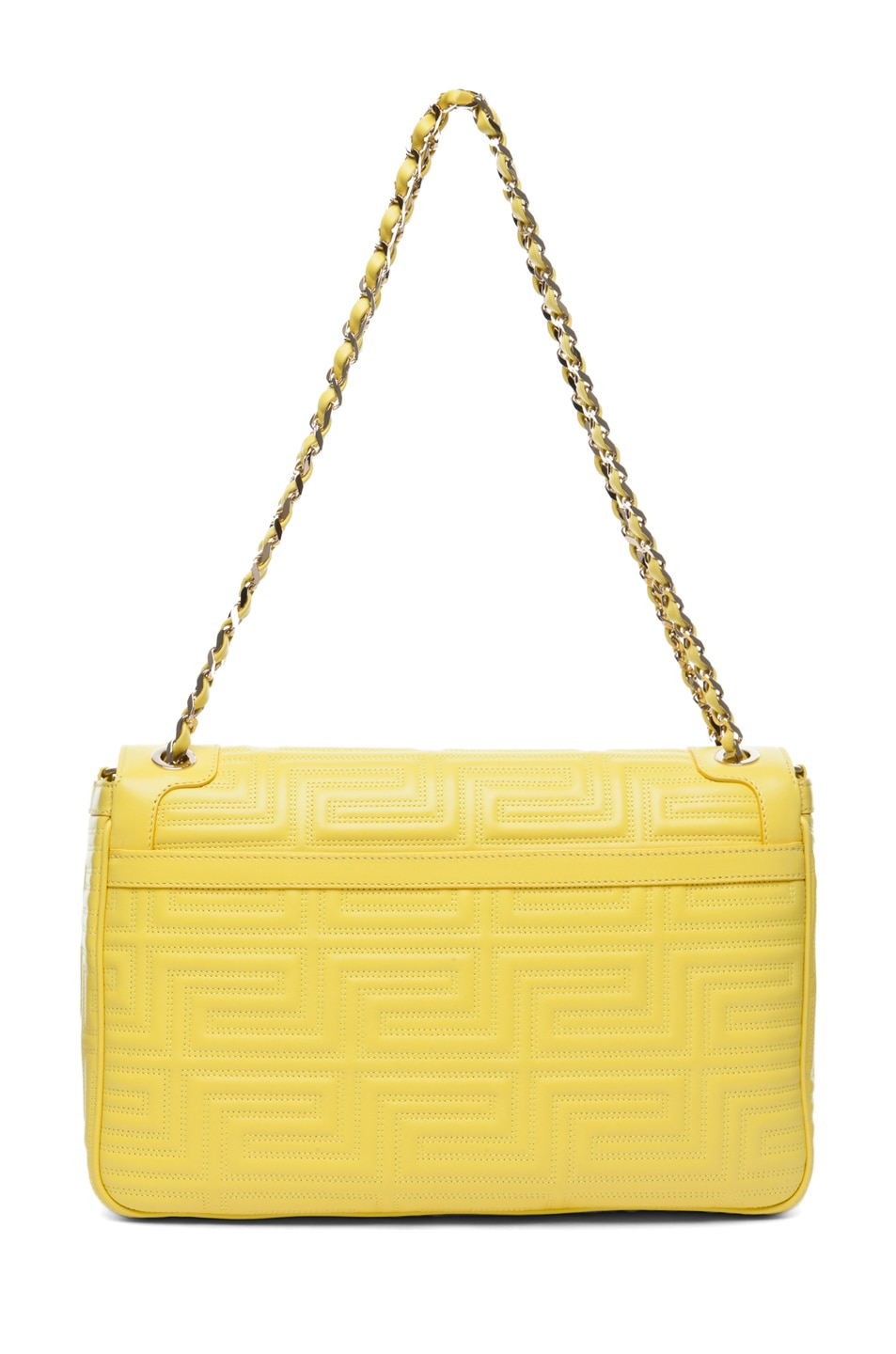 Image 2 of VERSACE Lamb Leather Handbag in Yellow