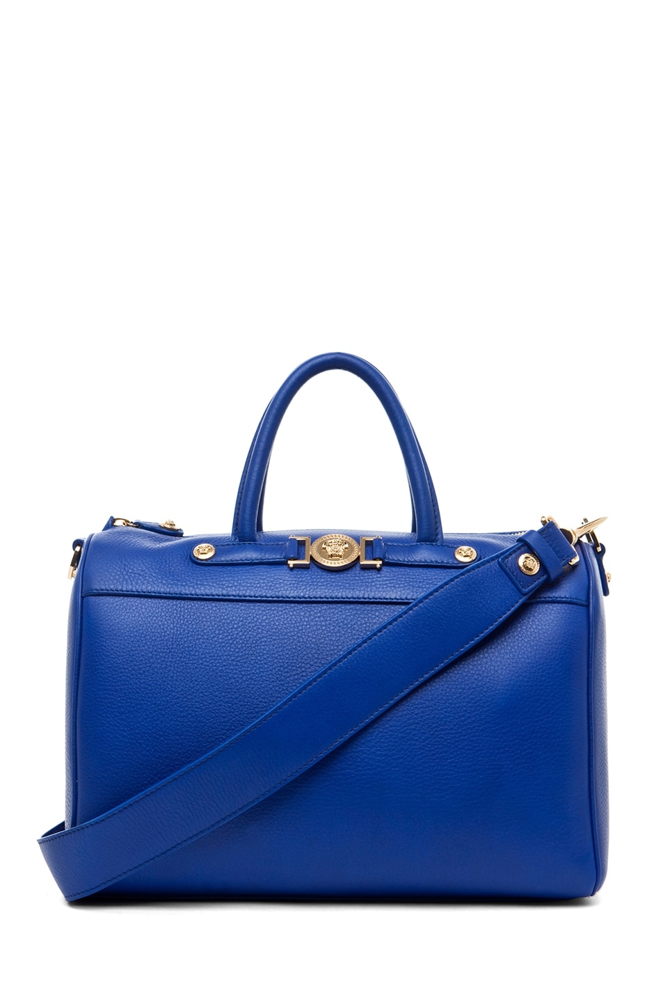 Image 1 of VERSACE Calf Leather Handbag in Blue