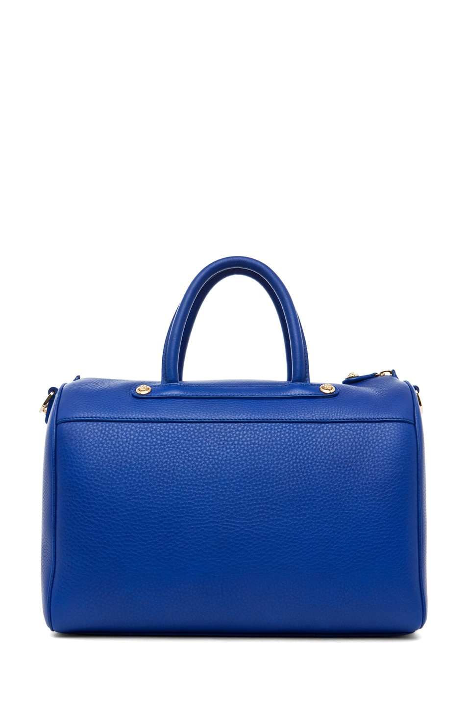 Image 2 of VERSACE Calf Leather Handbag in Blue