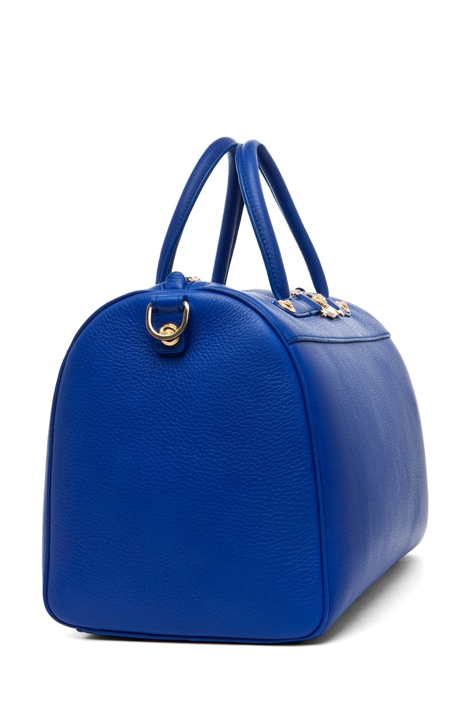 Image 3 of VERSACE Calf Leather Handbag in Blue