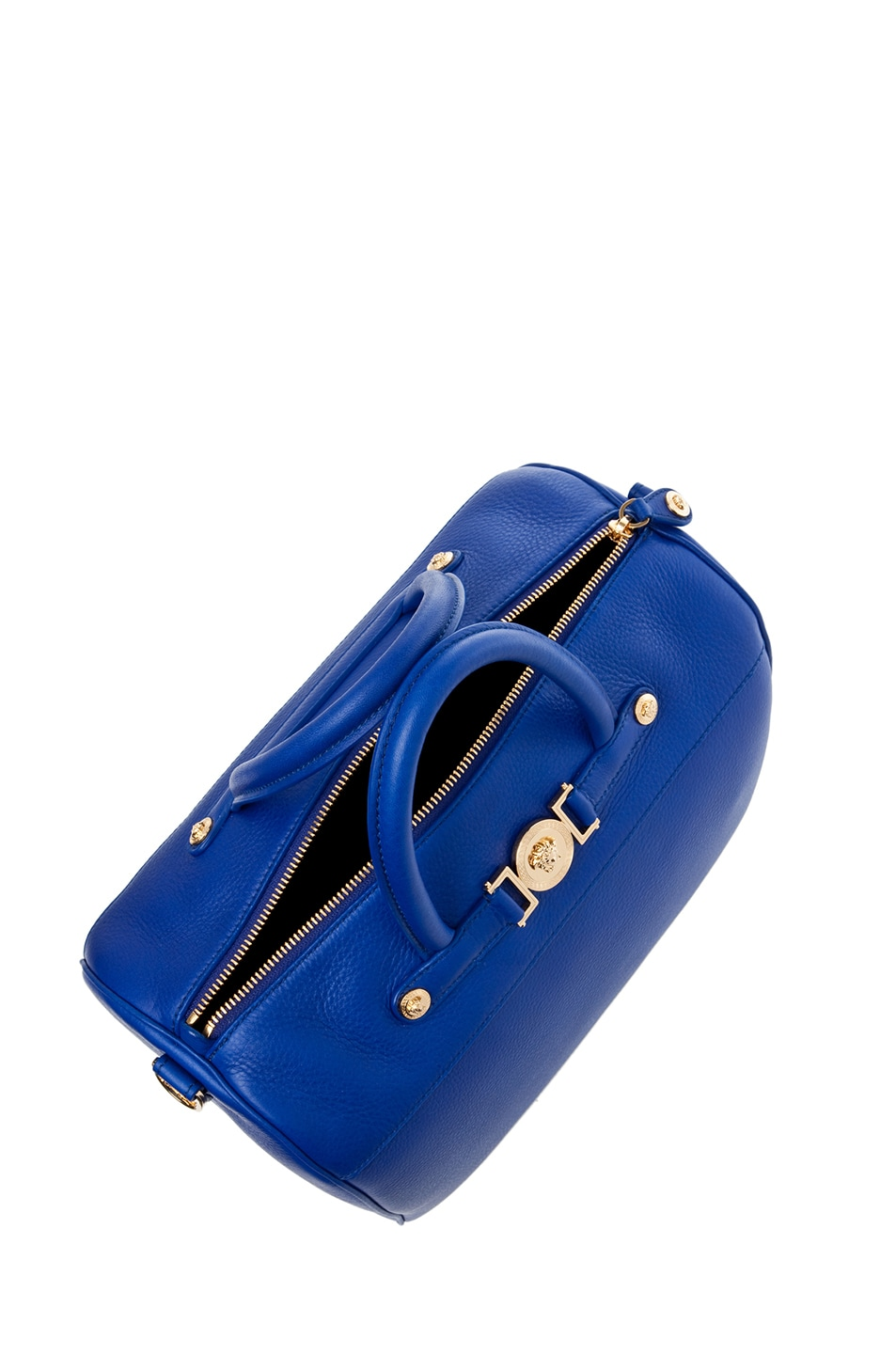 Image 4 of VERSACE Calf Leather Handbag in Blue