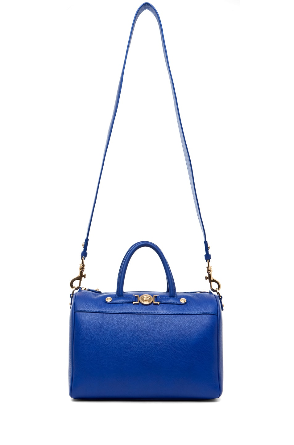 Image 5 of VERSACE Calf Leather Handbag in Blue