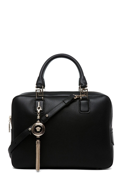 Image 1 of VERSACE Handbag in Demetra Black