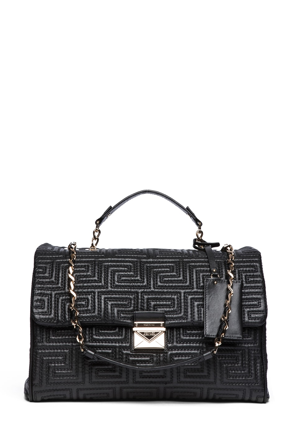 Image 1 of VERSACE Large Couture Bag in Black