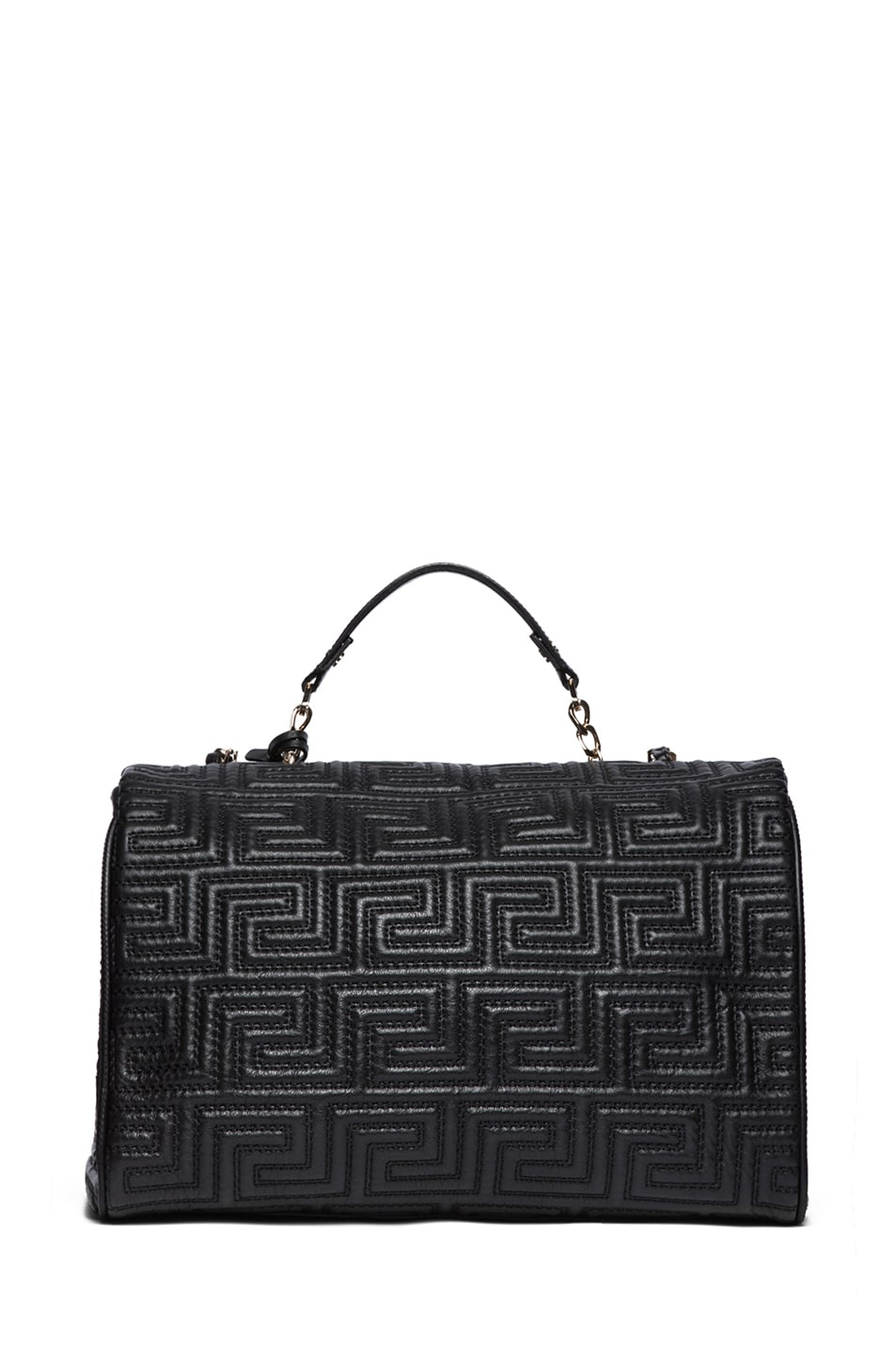 Image 2 of VERSACE Large Couture Bag in Black