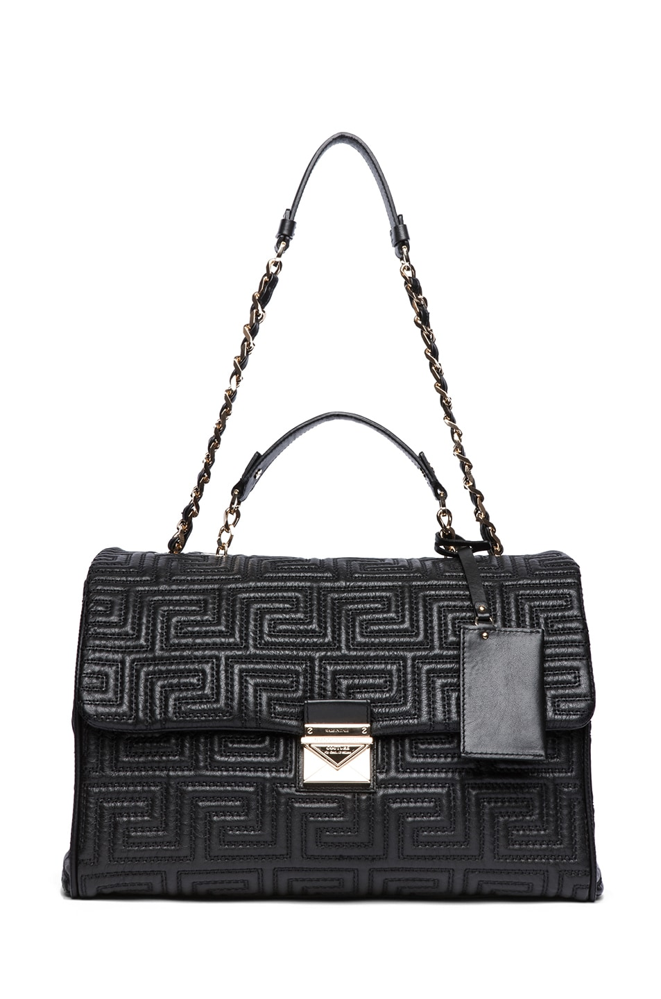 Image 5 of VERSACE Large Couture Bag in Black