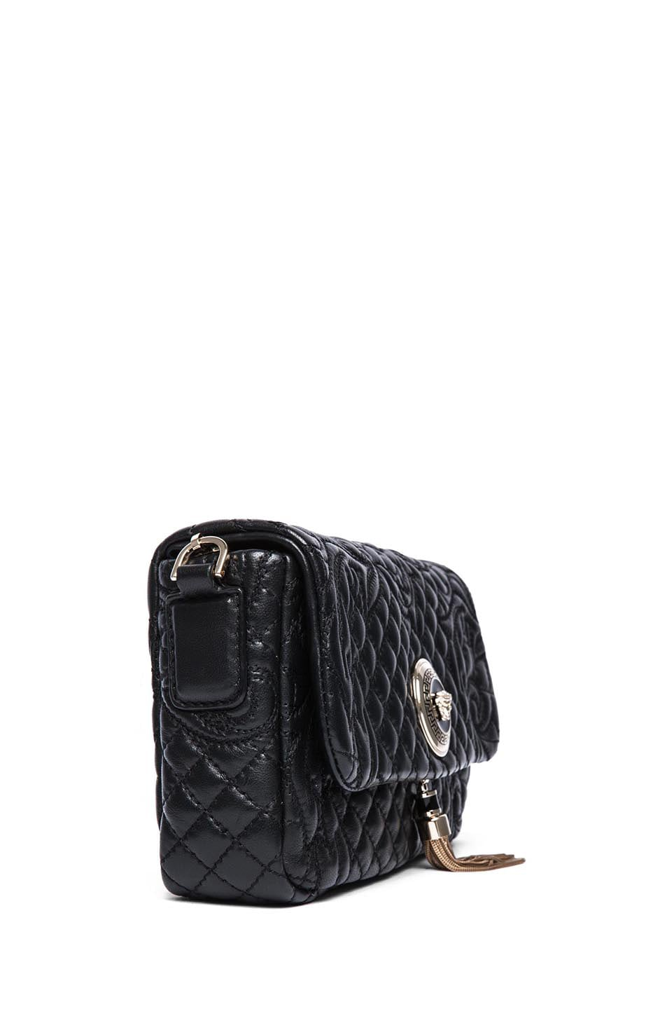 Image 3 of VERSACE Small Pendent Bag in Black