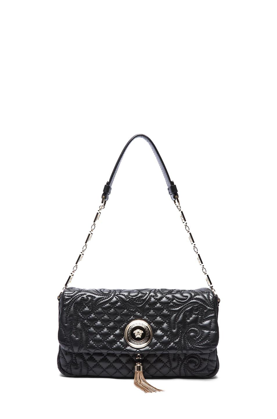 Image 5 of VERSACE Small Pendent Bag in Black