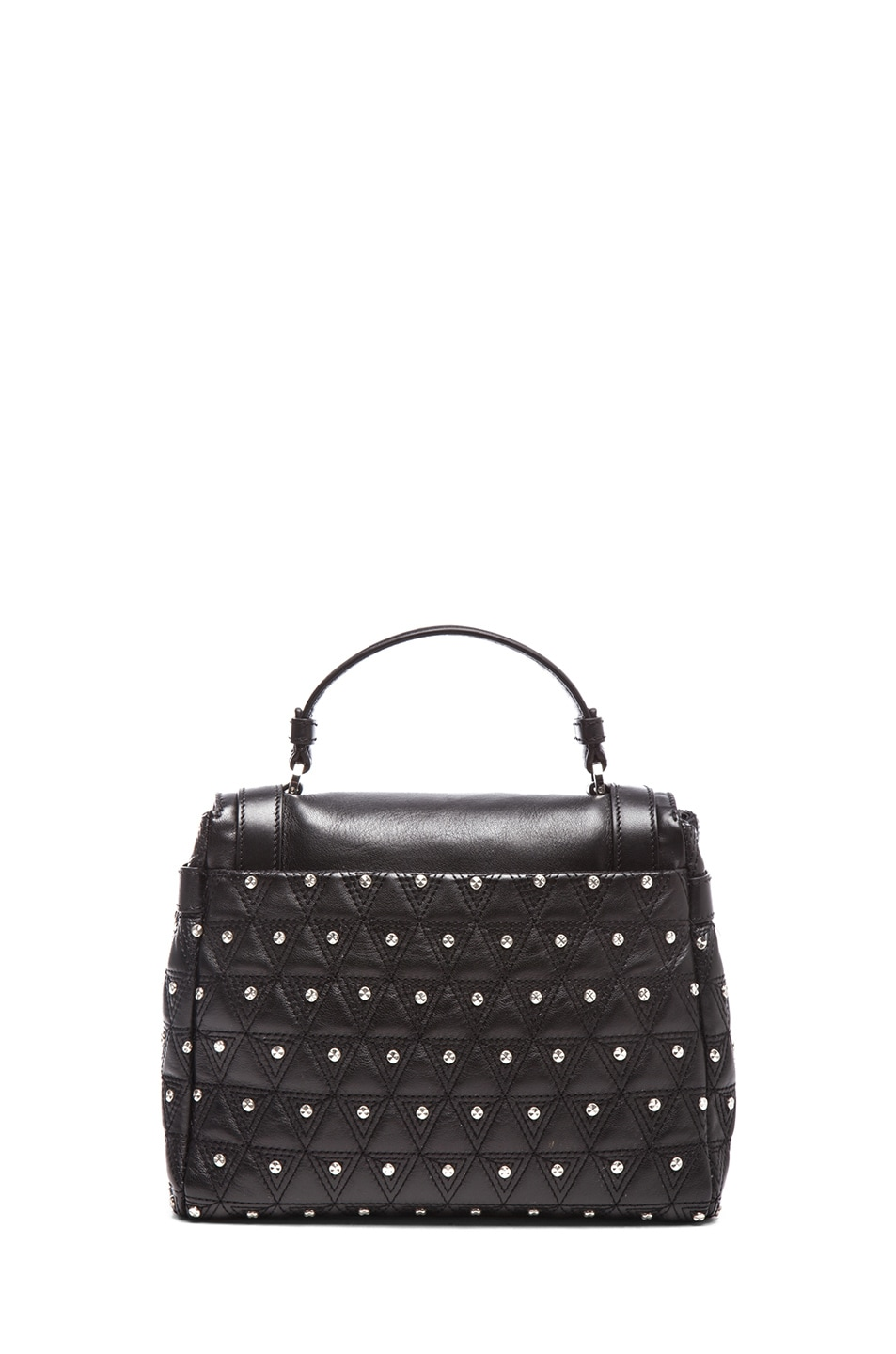 Image 2 of VERSACE Harness Satchel in Black