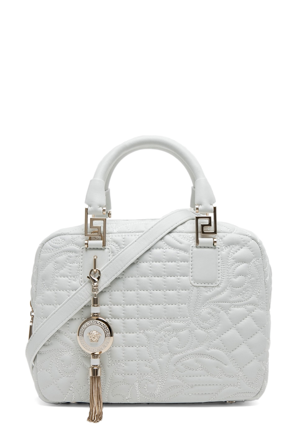 Image 1 of VERSACE Mini Piccolo in White