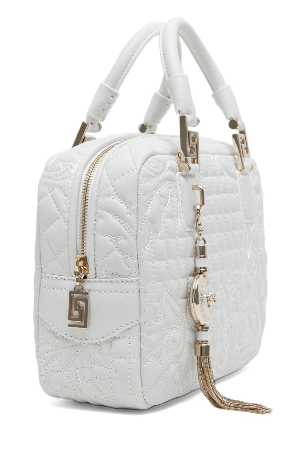 Image 3 of VERSACE Mini Piccolo in White