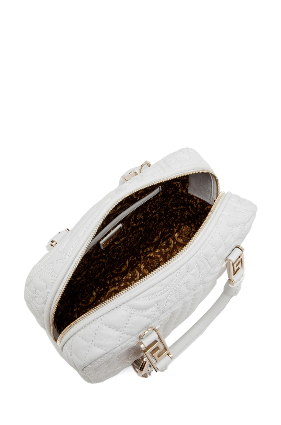 Image 4 of VERSACE Mini Piccolo in White