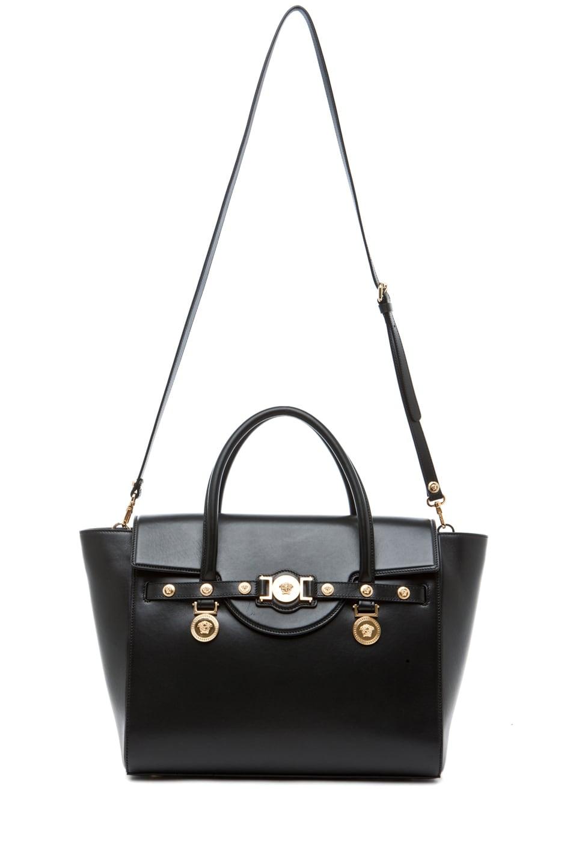Image 5 of VERSACE Lienea Signature Piccolo Bag in Black