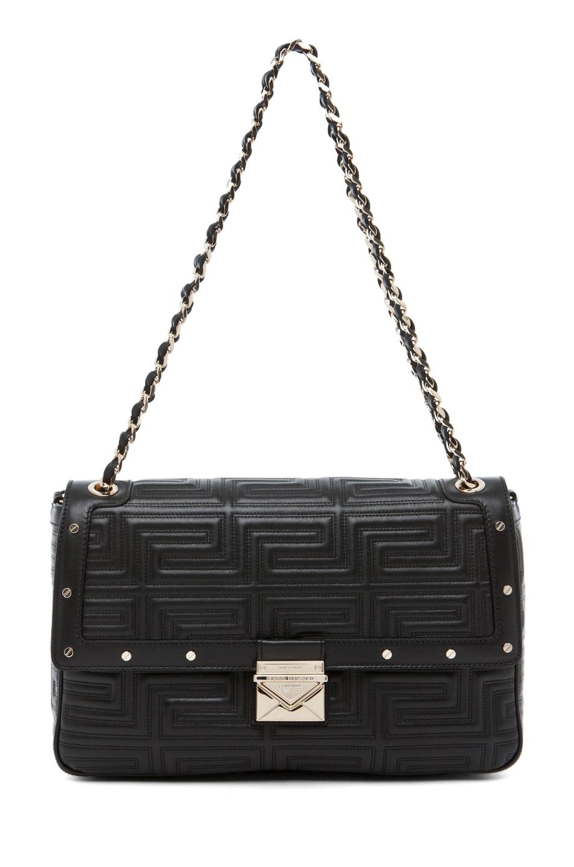 Image 1 of VERSACE Lamb Leather Handbag in Black