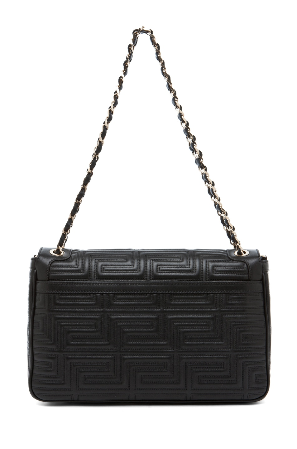 Image 2 of VERSACE Lamb Leather Handbag in Black