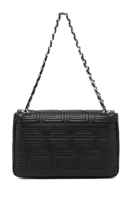 Image 2 of VERSACE Lamb Leather Handbag in Black