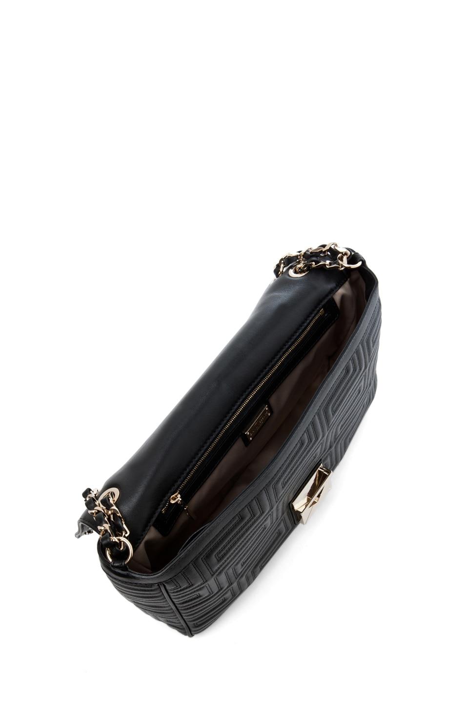 Image 4 of VERSACE Lamb Leather Handbag in Black