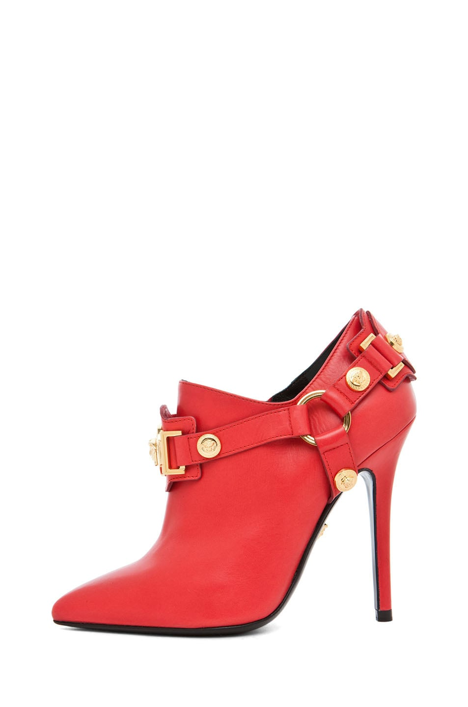 Image 1 of VERSACE Harness Bootie in Red
