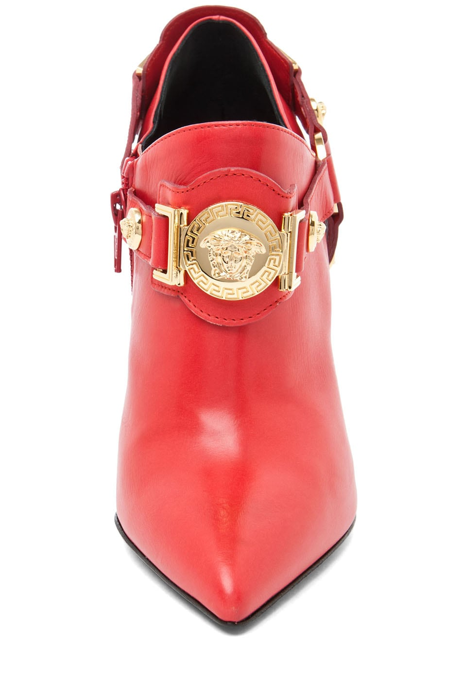 Image 4 of VERSACE Harness Bootie in Red