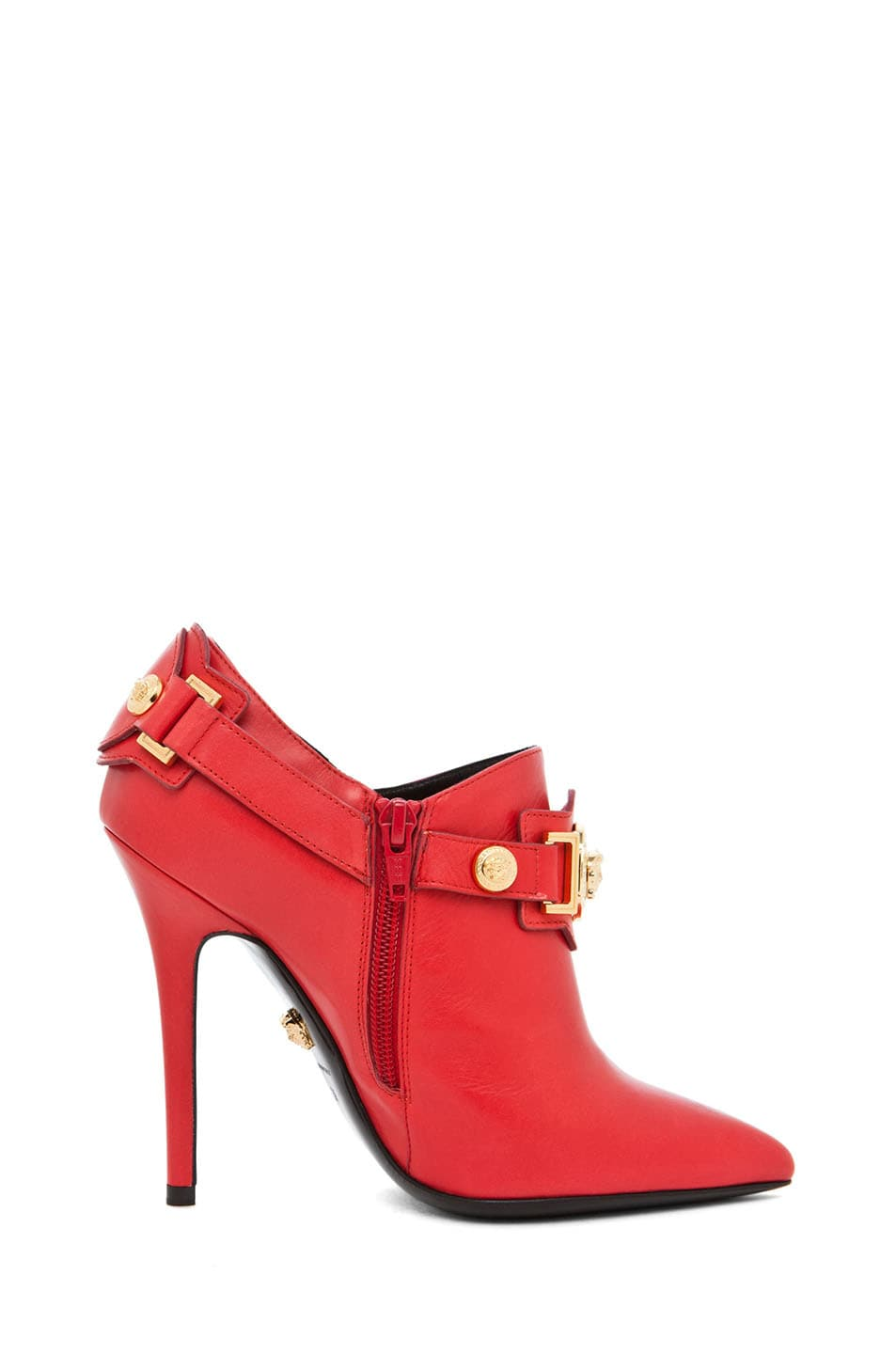 Image 5 of VERSACE Harness Bootie in Red