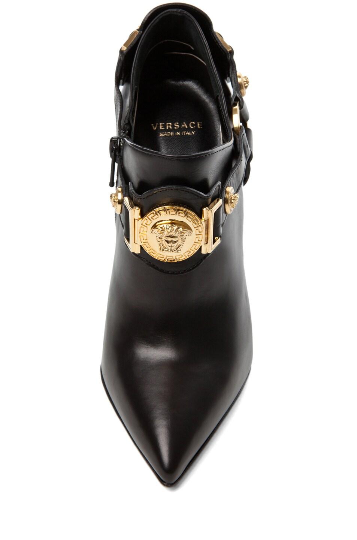 Image 4 of VERSACE Harness Bootie in Black
