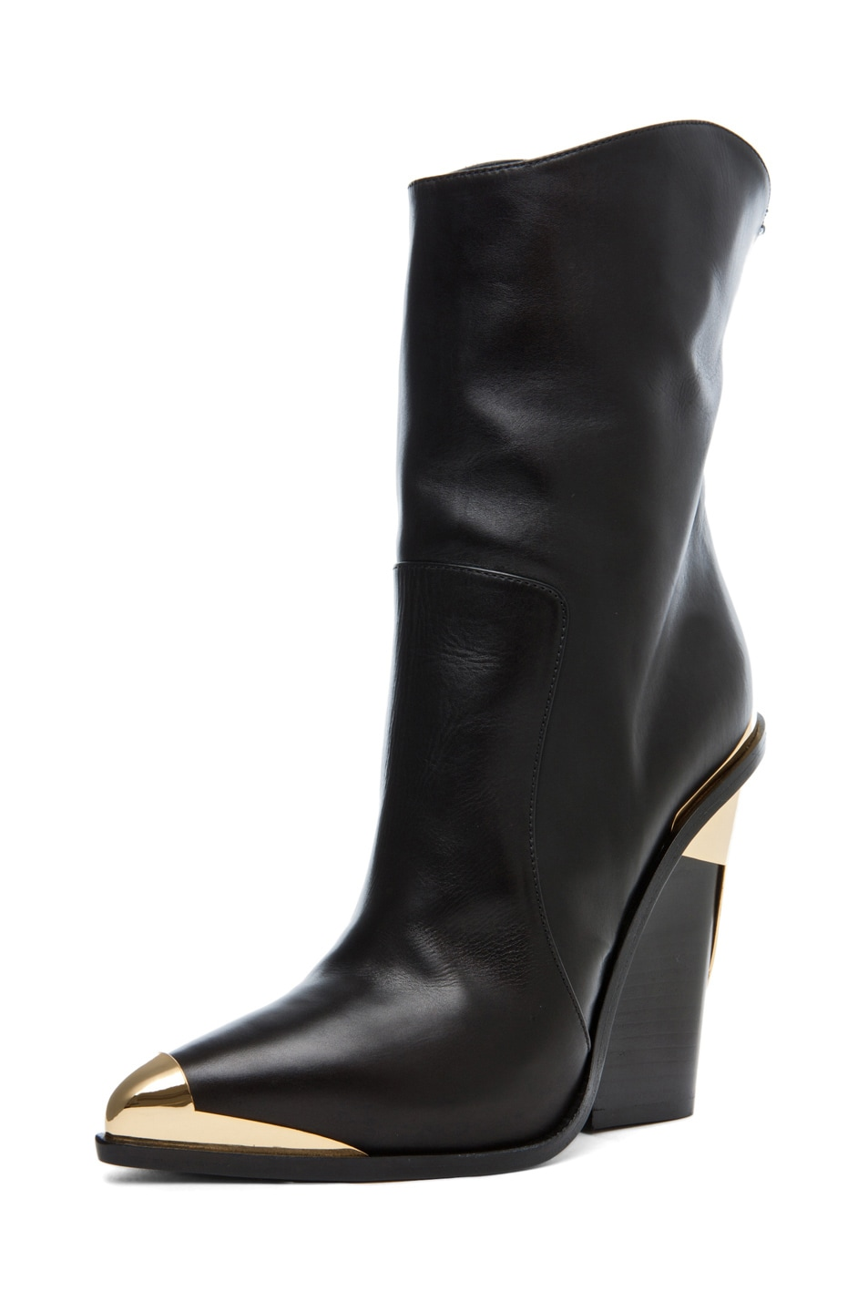 Image 2 of VERSACE Booties in Black