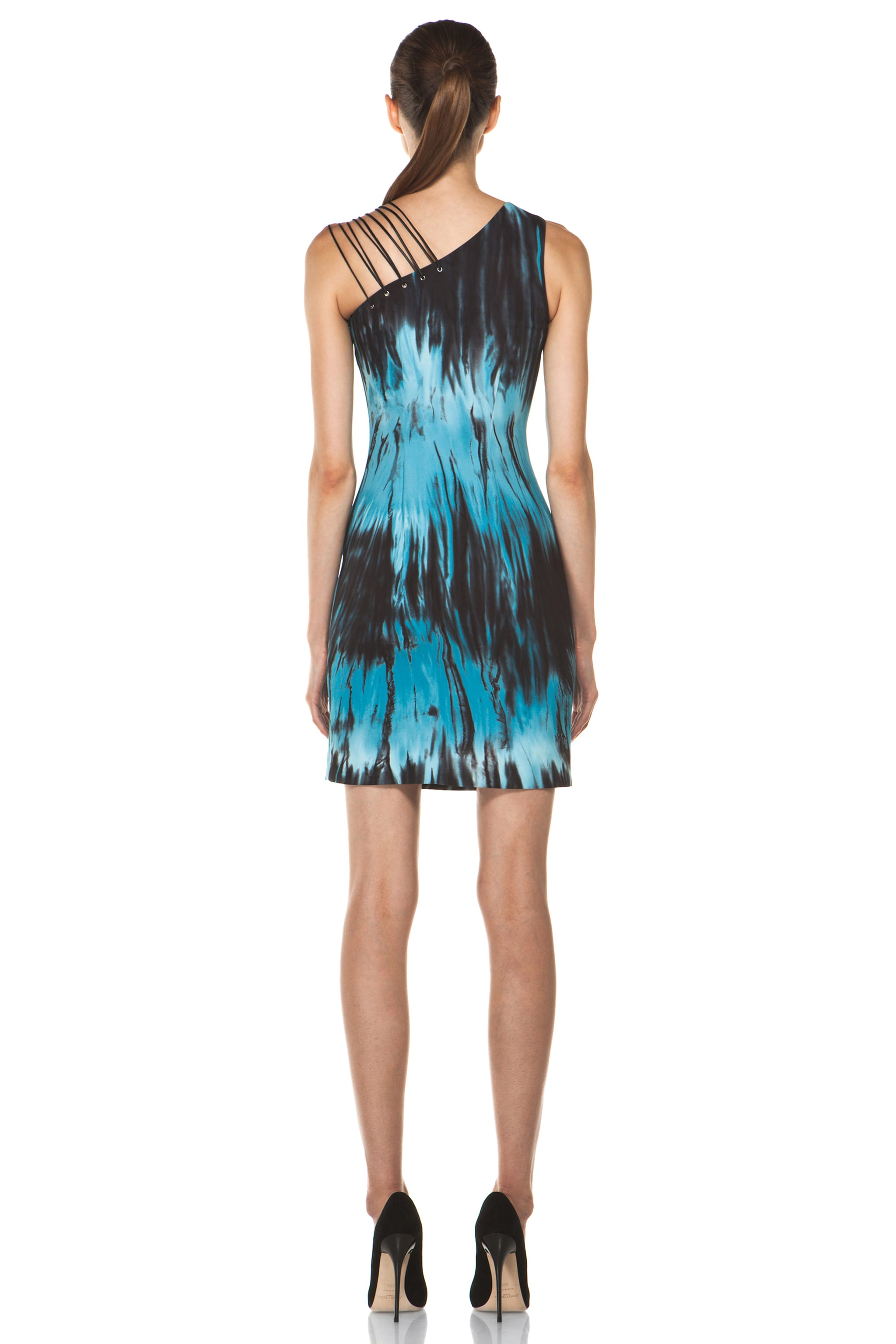 Image 4 of Versus Tie Dye Tank Dress in Sugar Paper Print