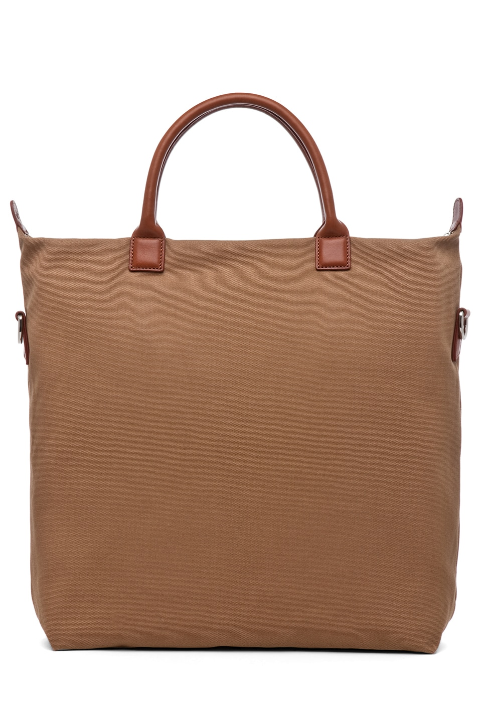 Image 2 of Want Les Essentiels De La Vie O'Hare Shopper Tote in Beige & Cognac