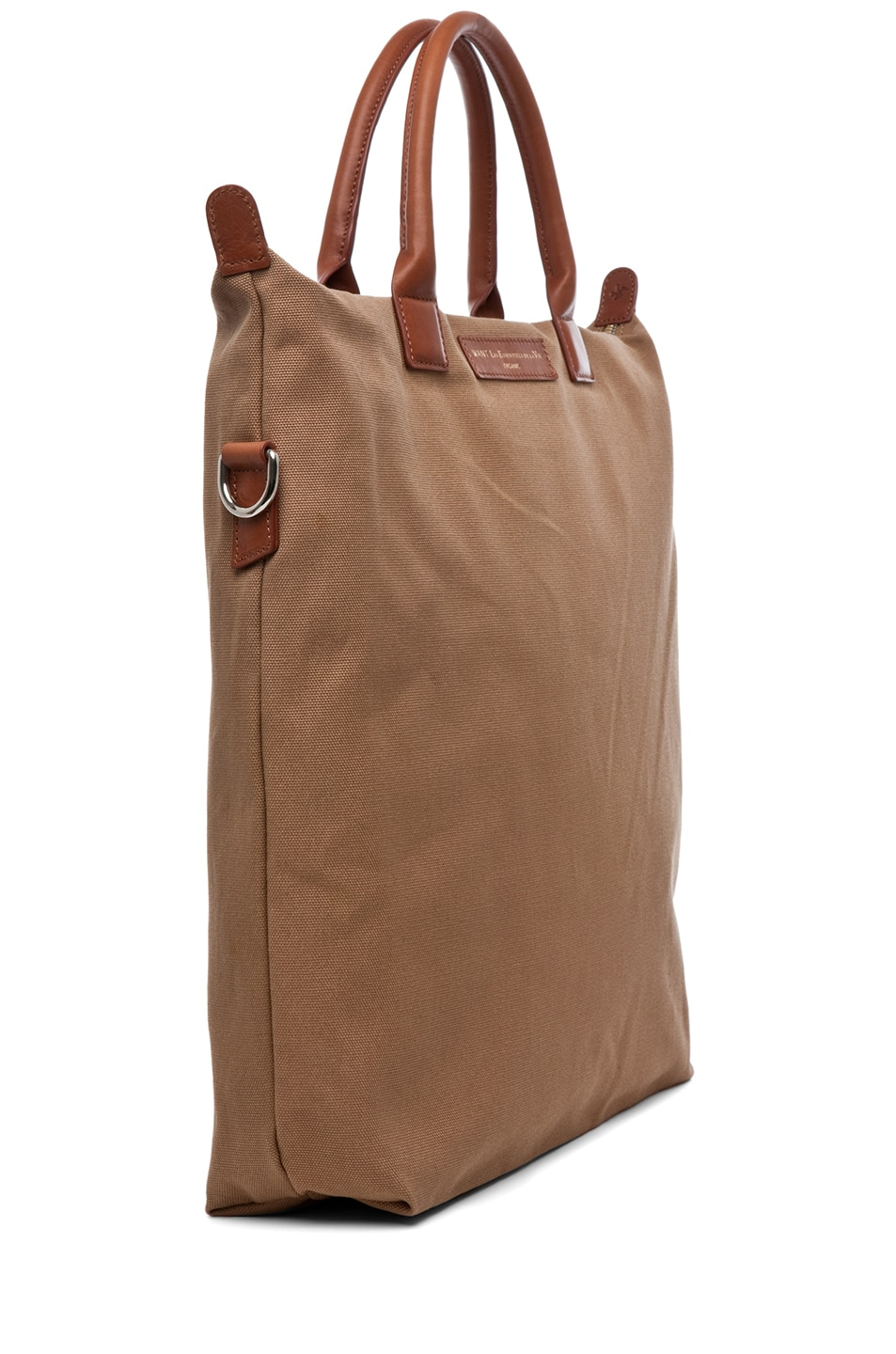 Image 3 of Want Les Essentiels De La Vie O'Hare Shopper Tote in Beige & Cognac