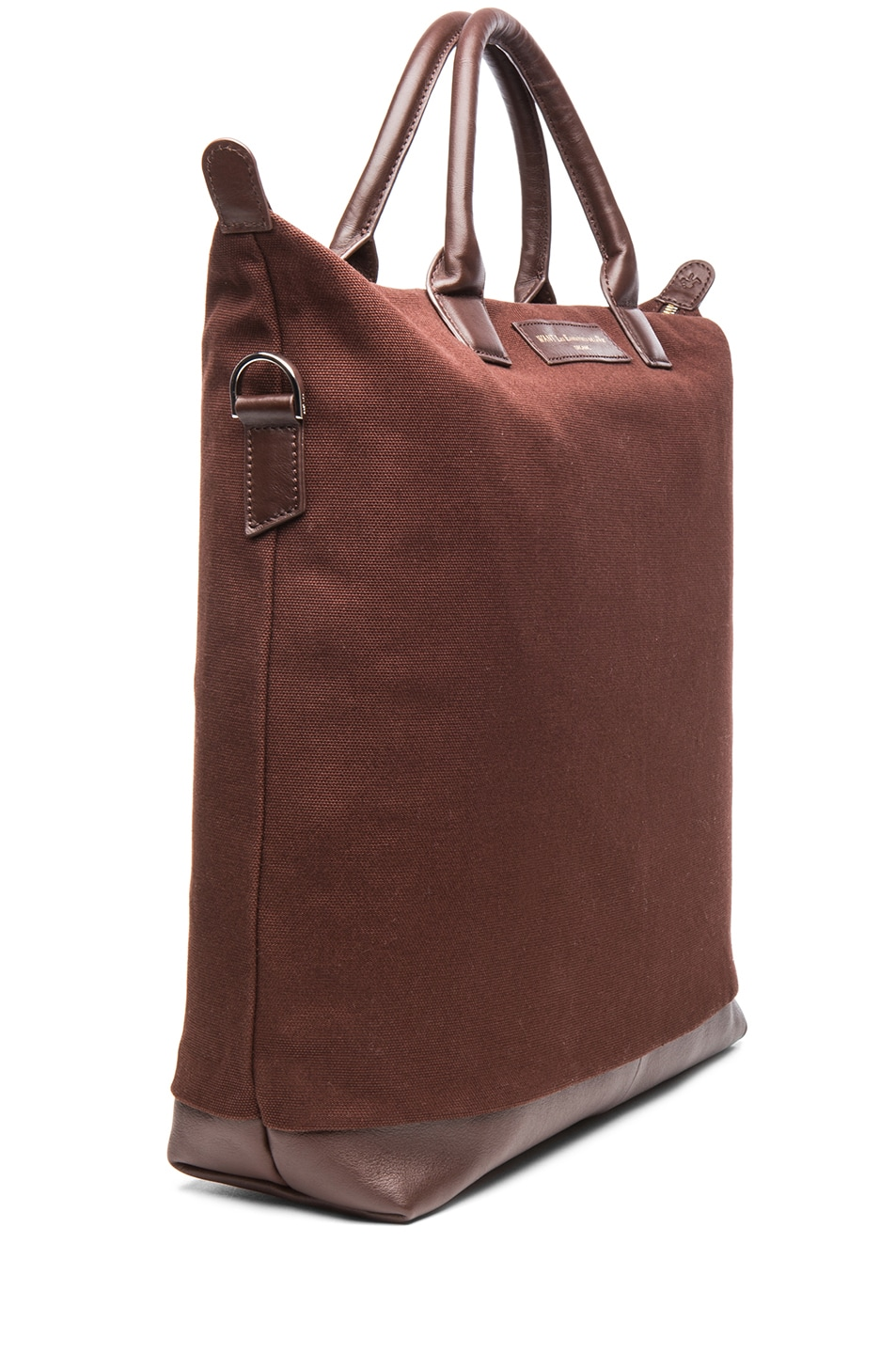 Image 3 of Want Les Essentiels De La Vie O'Hare Cotton Shopper Tote in Mountain & Cocoa