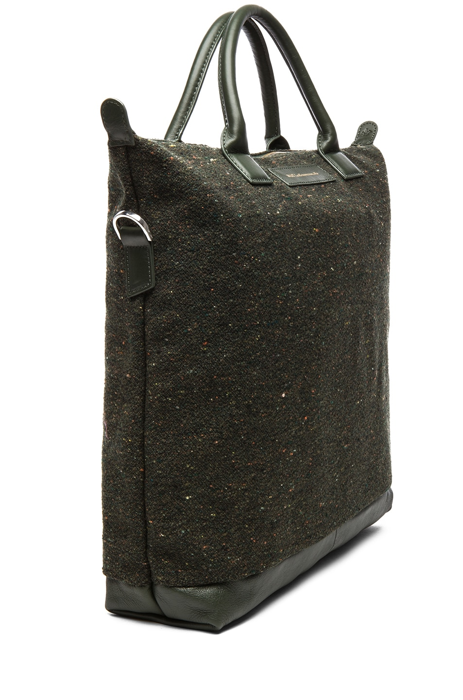 Image 3 of Want Les Essentiels De La Vie O'Hare Shopper Tote in Spruce Fire & Moss