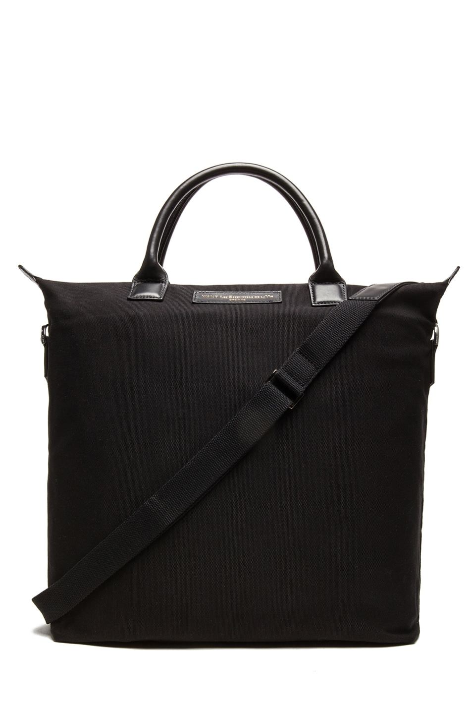 Image 1 of Want Les Essentiels De La Vie O'Hare Cotton Shopper Tote in Black
