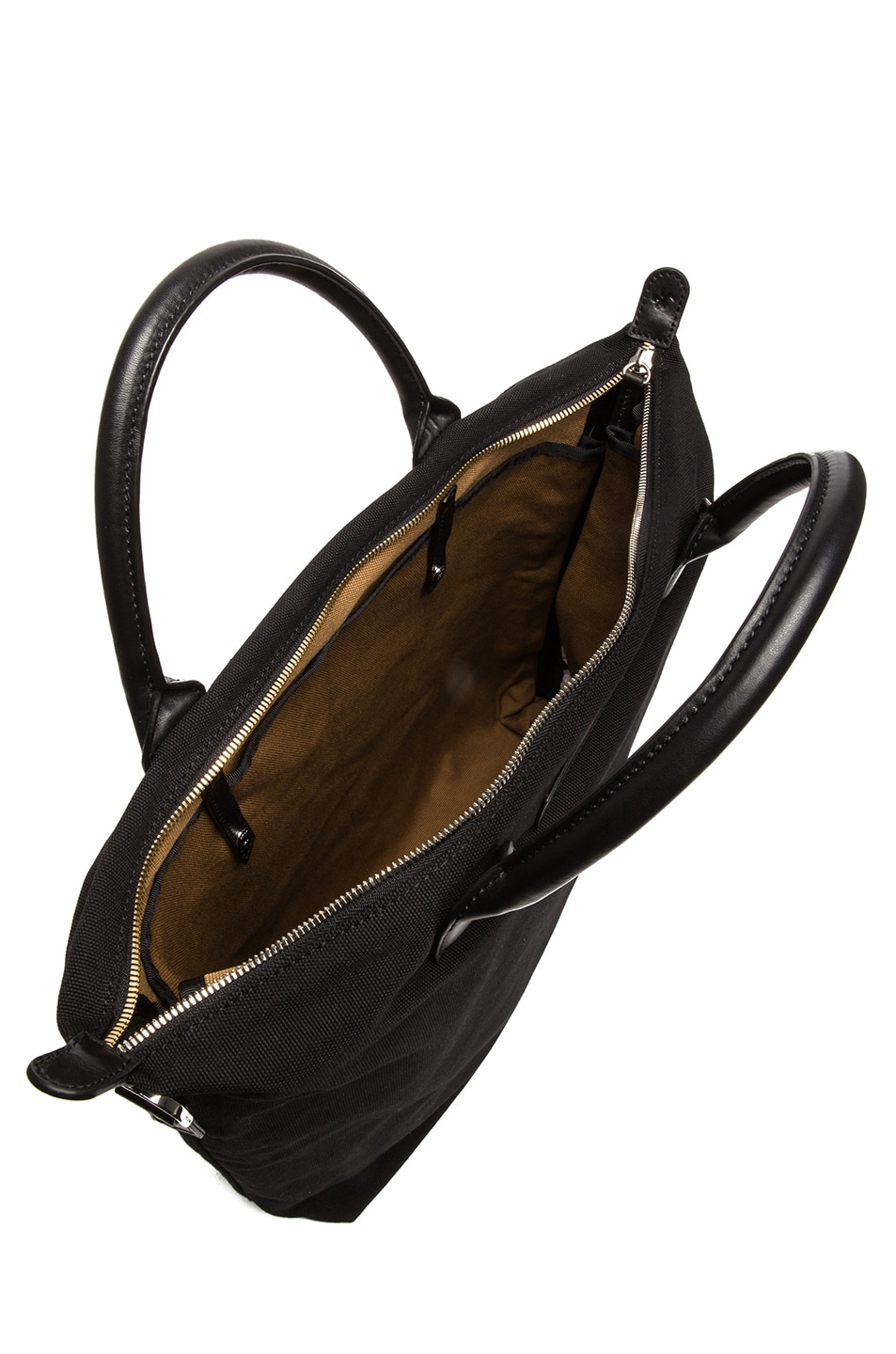 Image 4 of Want Les Essentiels De La Vie O'Hare Cotton Shopper Tote in Black
