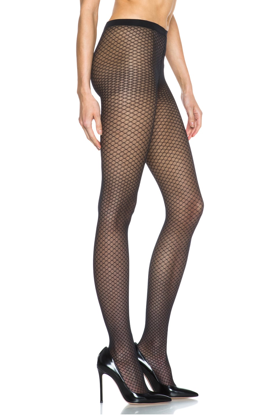 Image 5 of Wolford Iman Tights in Black