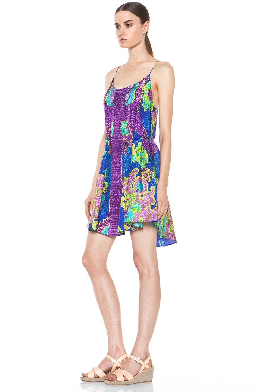Image 2 of Zimmermann Brightside Swing Dress in Print