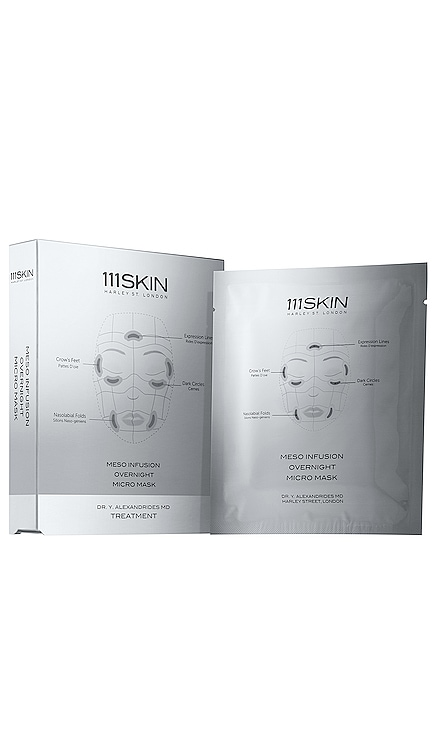 Meso Infusion Overnight Mask 4 Pack 111Skin $160