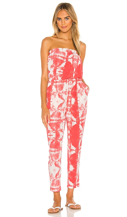 Strapless Tie Dye Knit Jumpsuit 1. STATE $119 BEST SELLER