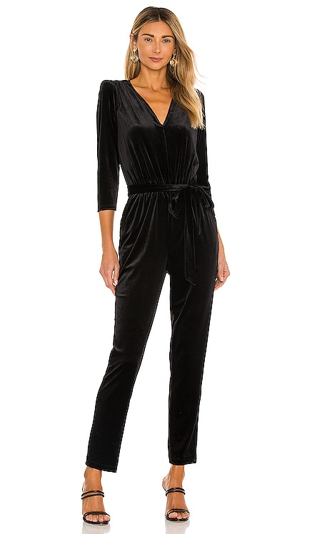 Stretch Velvet Jumpsuit 1. STATE $109