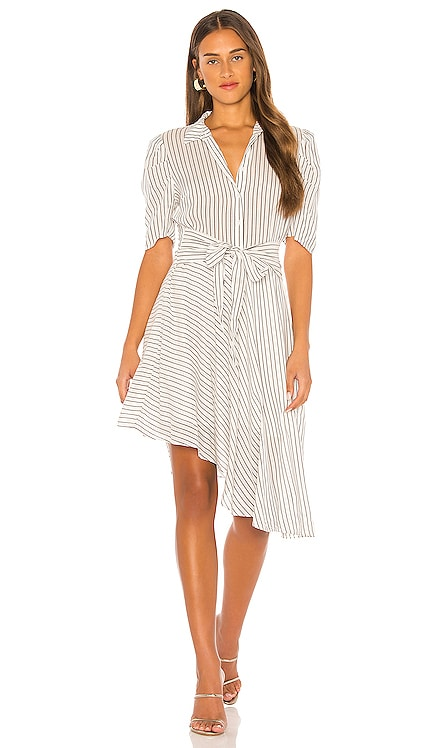 Tie Front Striped Dress 1. STATE $129