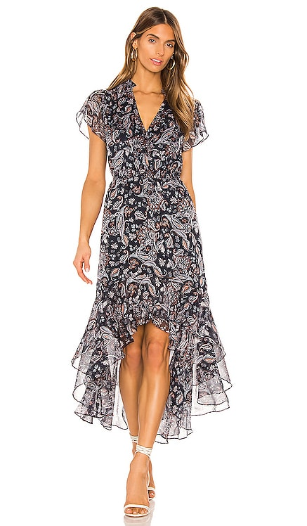 Flutter Sleeve Lyrical Paisley Dress 1. STATE $129