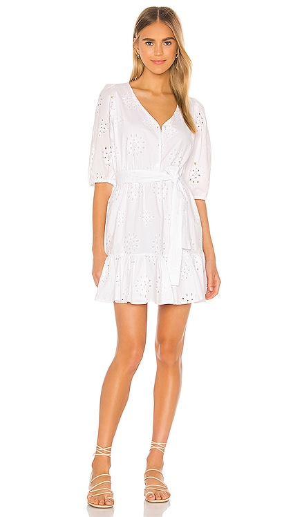 Cotton Eyelet Tie Waist Dress 1. STATE $129 BEST SELLER