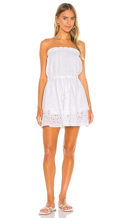 Strapless Tiered Cotton Eyelet Dress 1. STATE $149