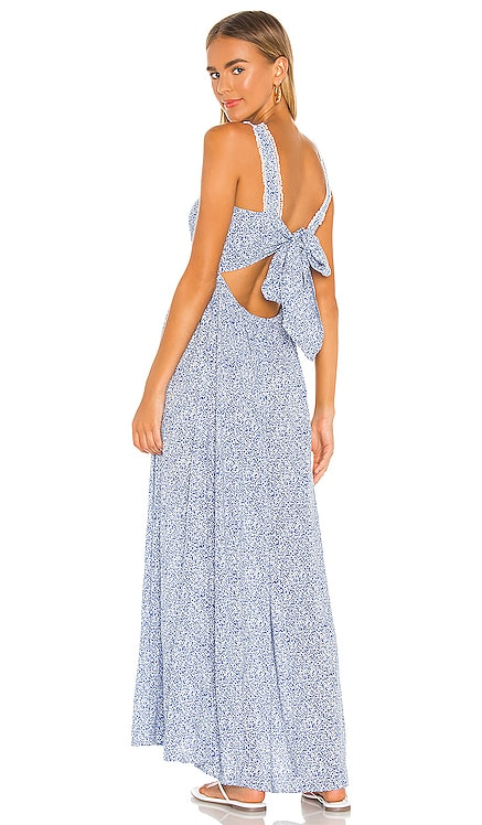 Tie Back Vintage Ditsy Maxi Dress 1. STATE $129